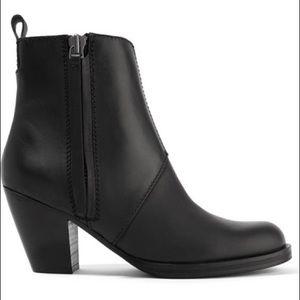 acne pistol boots size 36